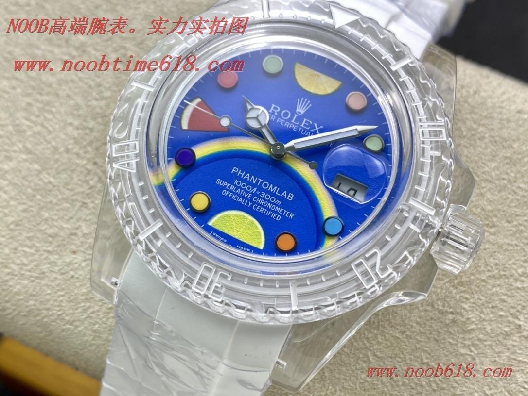 透明錶,改裝錶,精仿手錶,REPLICA WATCH KZ factory幻影實驗室改裝勞力士透明水鬼,N廠手錶