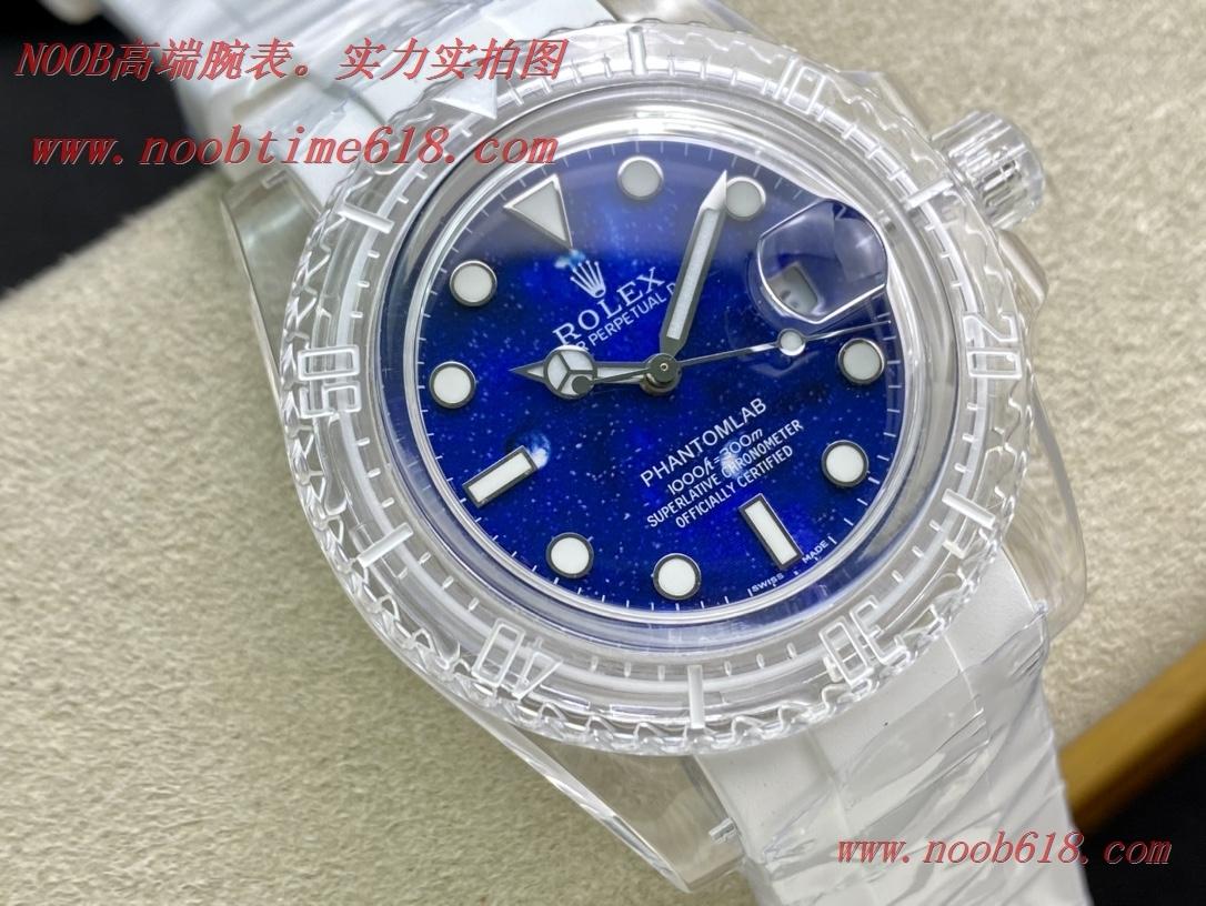 改裝錶,精仿手錶,REPLICA WATCH KZ factory幻影實驗室改裝勞力士透明水鬼,N廠手錶