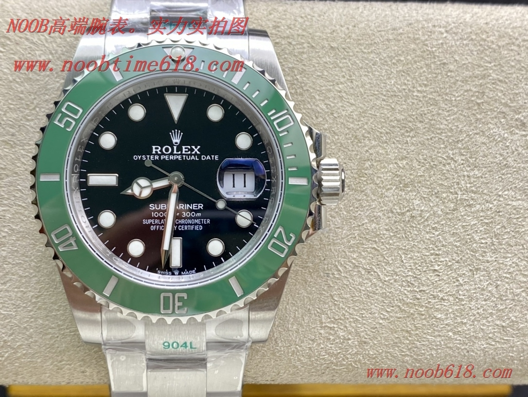 仿錶,精仿手錶,瑞機版Green factory 綠廠手錶市場唯一搭載瑞士進口機芯的2020年勞力士41MM綠水鬼潛航者系列,N廠手錶