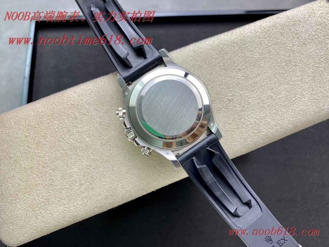 N廠手錶NOOB FACTORY 勞力士灰迪迪通拿超級4130機芯,N廠手錶
