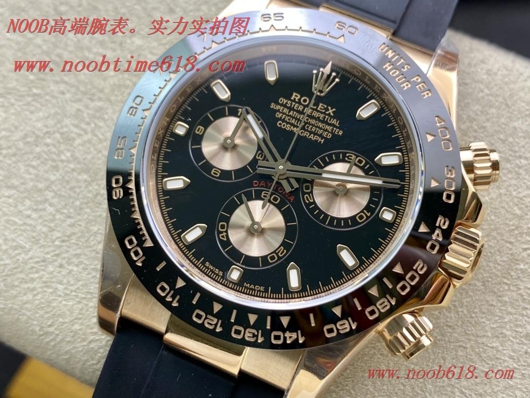 仿錶,精仿錶N廠手錶NOOB FACTORY 勞力士迪通拿超級4130機芯,N廠手錶