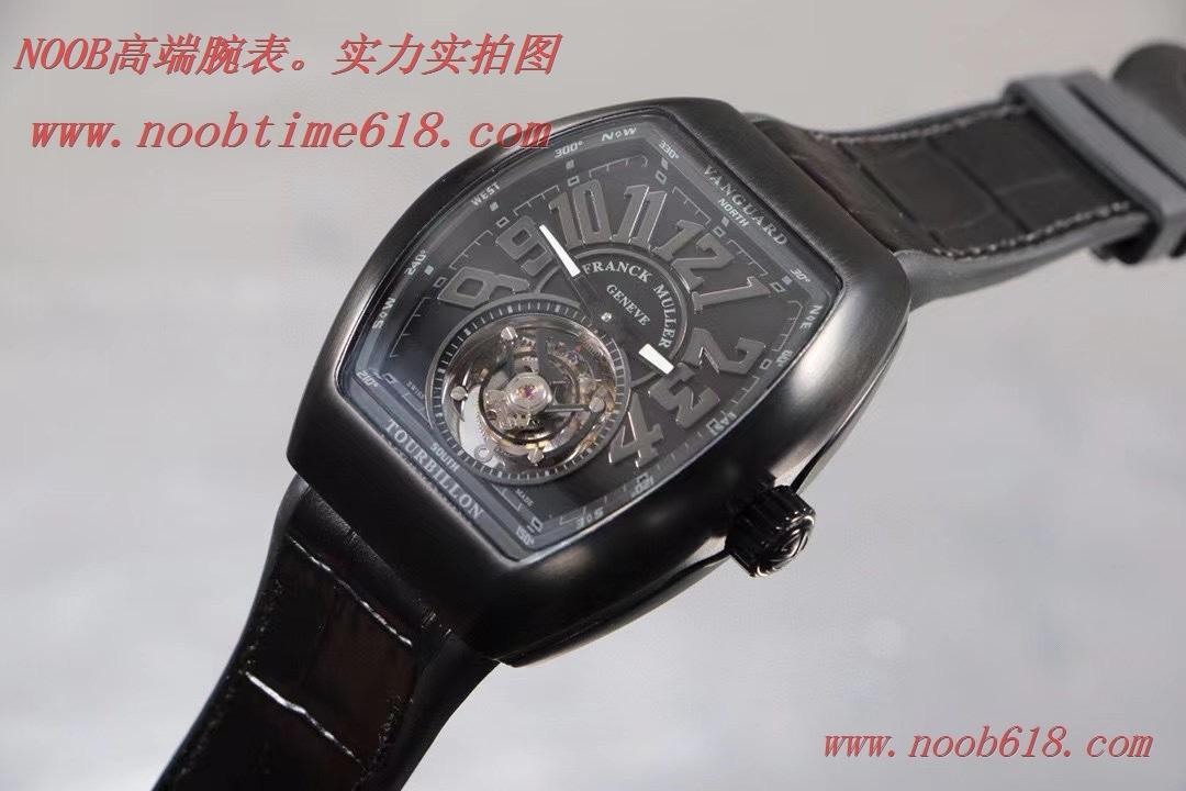 香港仿錶,複刻手錶法蘭克穆勒 V45 先鋒系列陀飛輪,REPLICA WATCH