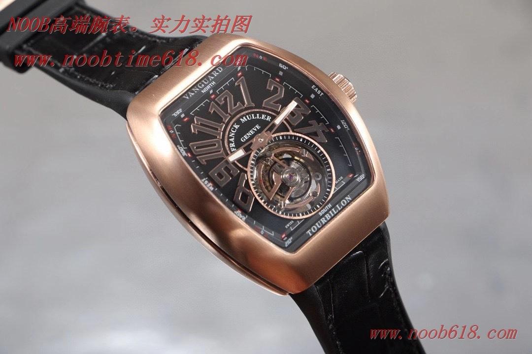 複刻手錶,香港仿錶法蘭克穆勒 V45 先鋒系列陀飛輪,REPLICA WATCH