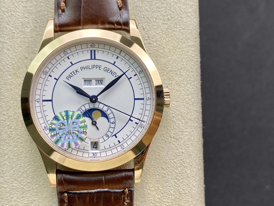 REPLICA WATCH GR factory百達翡麗複雜功能計時5396系列,N廠手錶