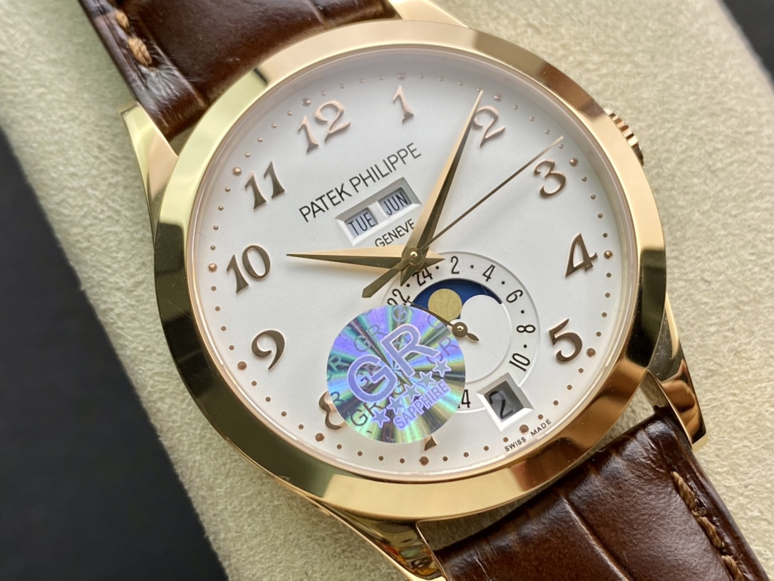 WACTCH AGENT GR factory百達翡麗複雜功能計時5396系列,N廠手錶