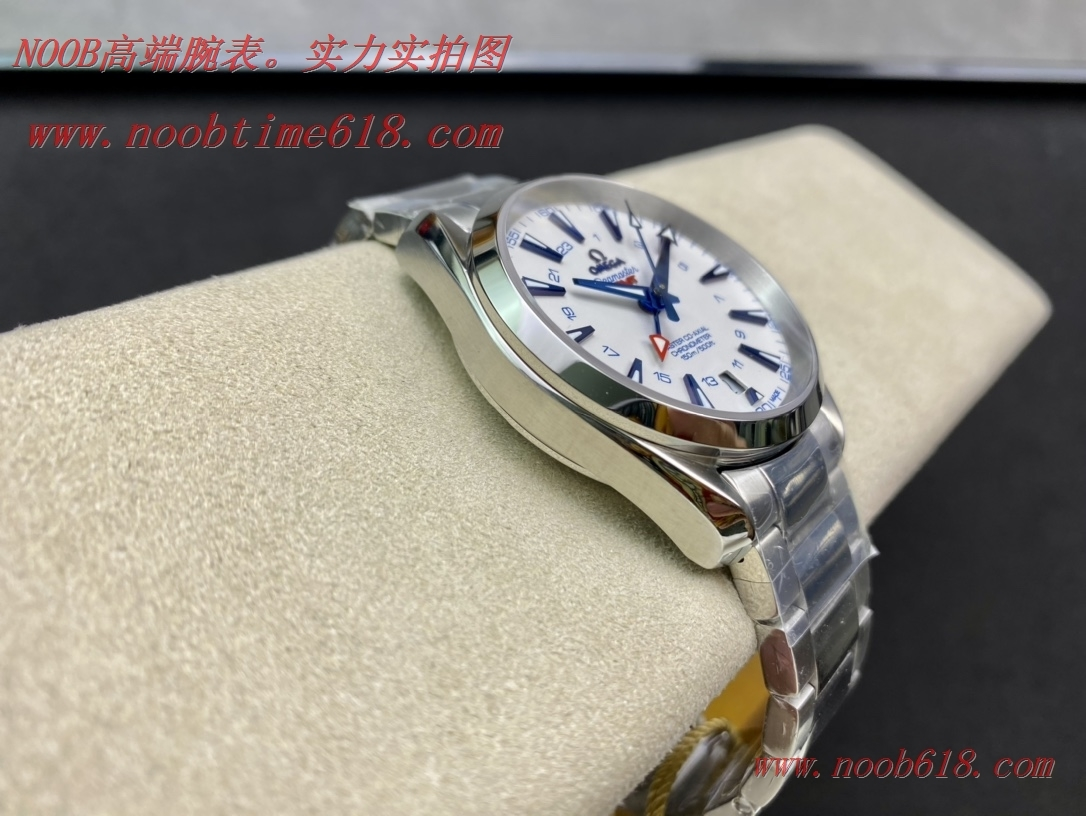 仿錶,精仿錶,稀缺款JH廠手錶歐米茄海馬150 米GMT 雙時區腕表