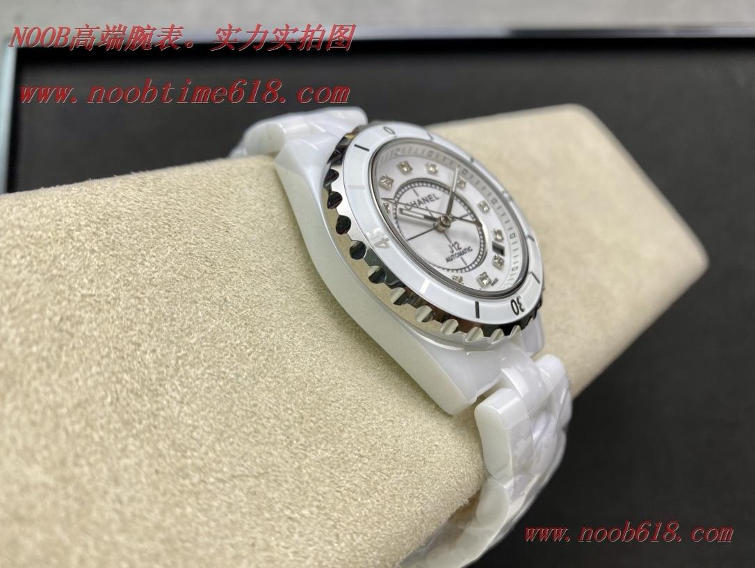 複刻手錶,複刻錶,稀缺款老款銀針TW factory香奈兒 CHANEL J12 系列38機械腕表