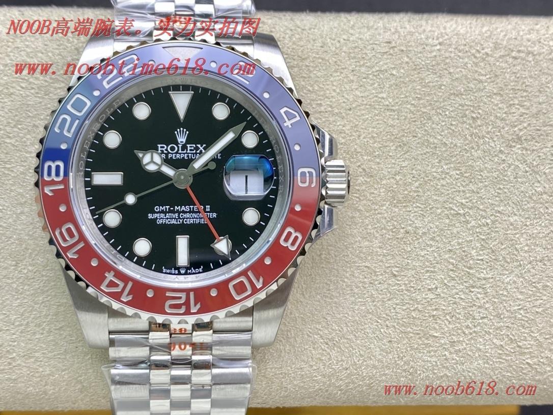 精仿錶,複刻錶,REPLICA WATCH GS factory勞力士可樂圈格林尼治3285機芯,N廠手錶
