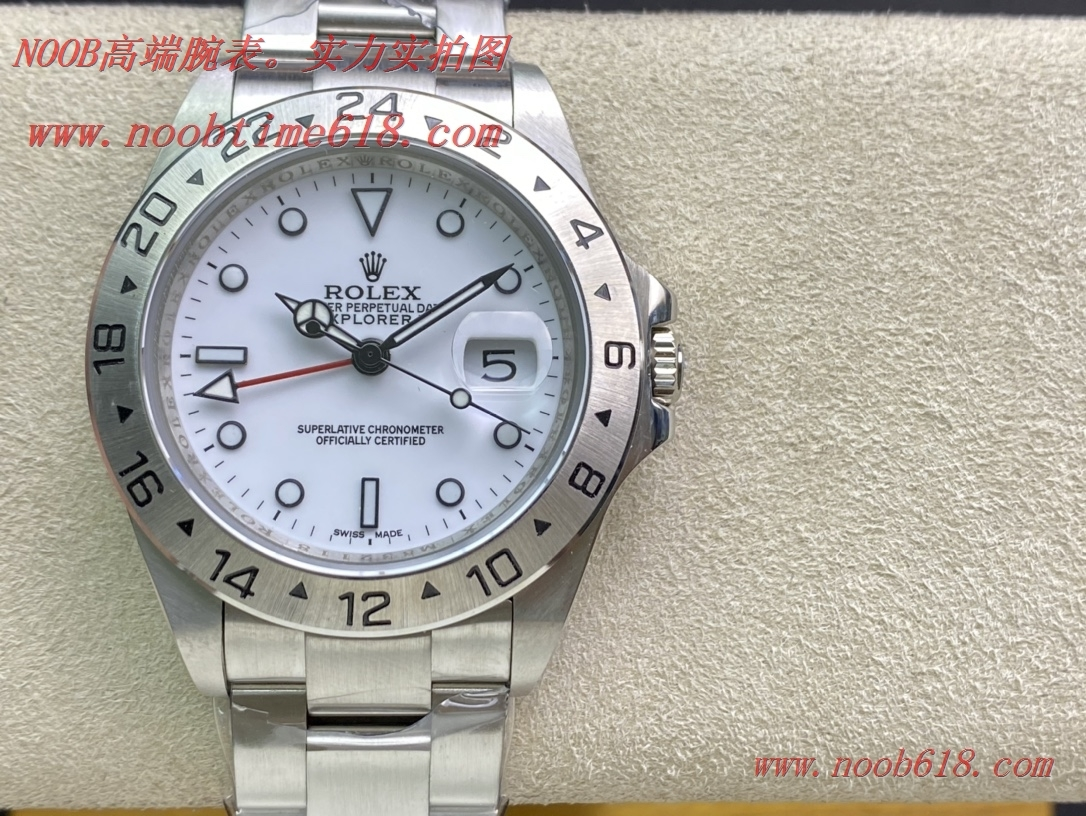仿錶,精仿錶,稀缺款 BP 勞力士 16570復古款探險家系列GMT功能 2836機芯 40mm