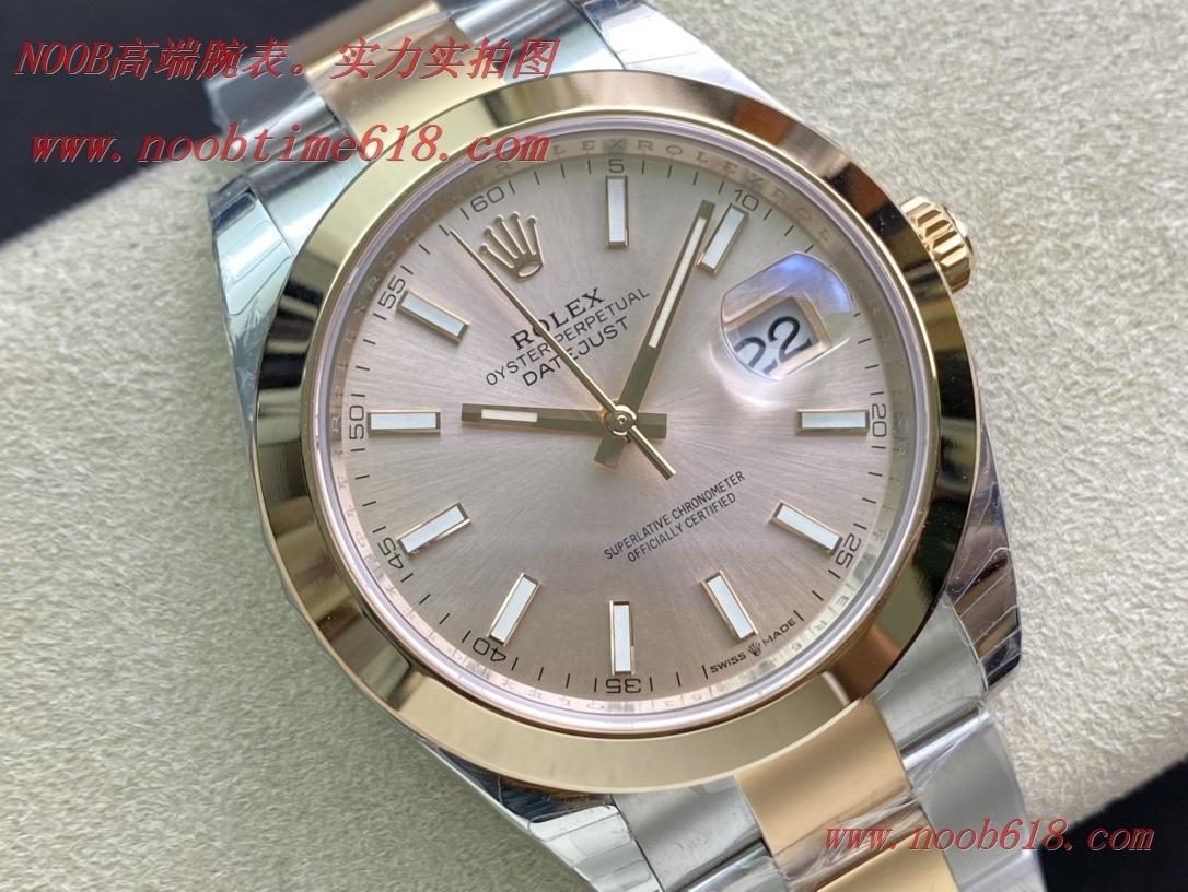 仿錶,複刻錶,EW Factory勞力士Rolex 3235自動機械機芯日誌型系列126331男士日誌型41MM腕表