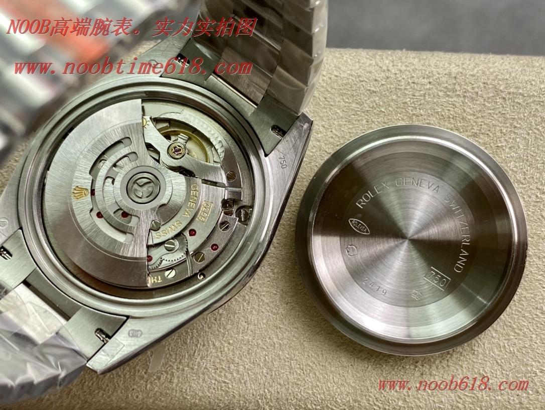 仿錶BP factory rolex dd勞力士紫貝母盤星期日志雙曆40mm3255機芯複刻手錶