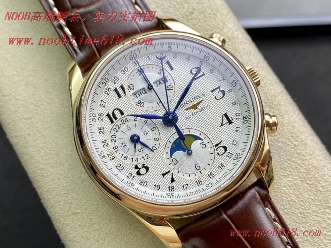 仿錶YL 廠浪琴名匠月相八針L2.773.4.78.6手錶