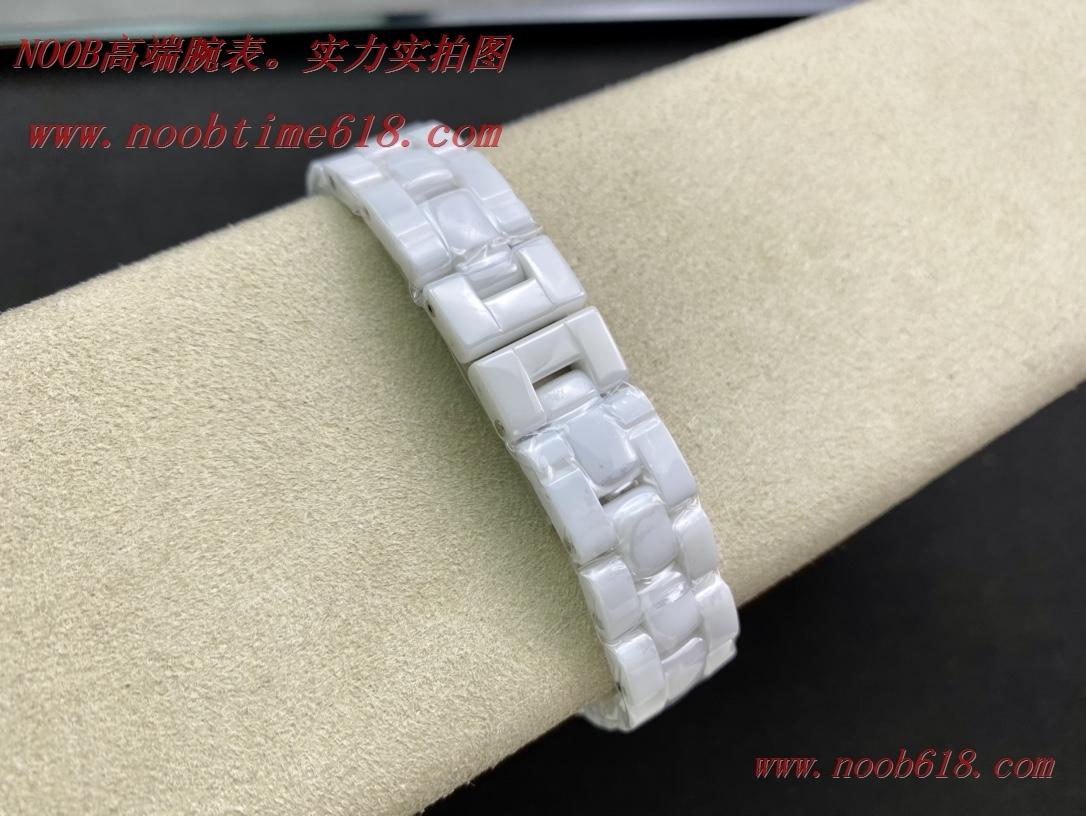 仿錶CHANEL香奈兒J12系列石英款白陶瓷女表