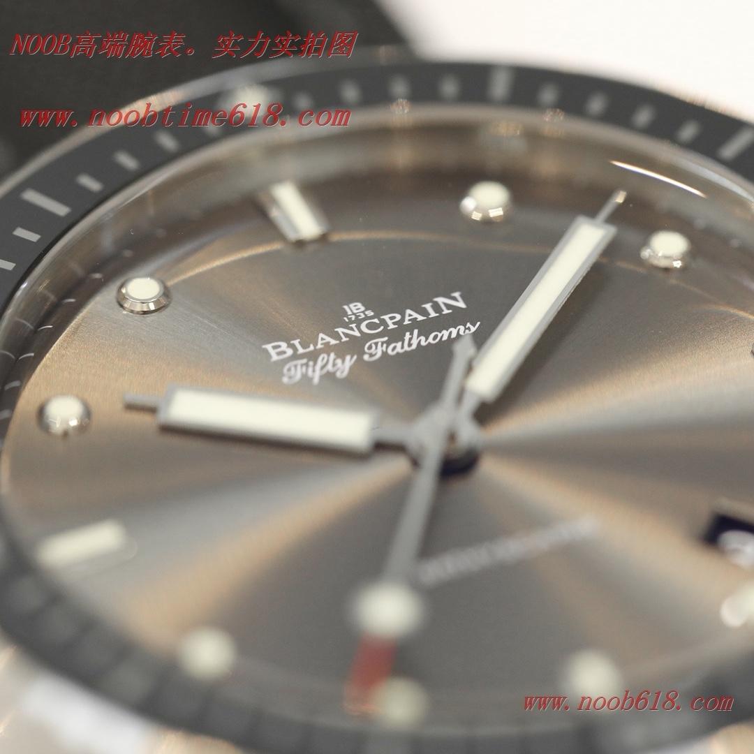 仿錶,GF廠手錶鋼殼寶珀五十尋系列緞面磨砂盤複刻錶