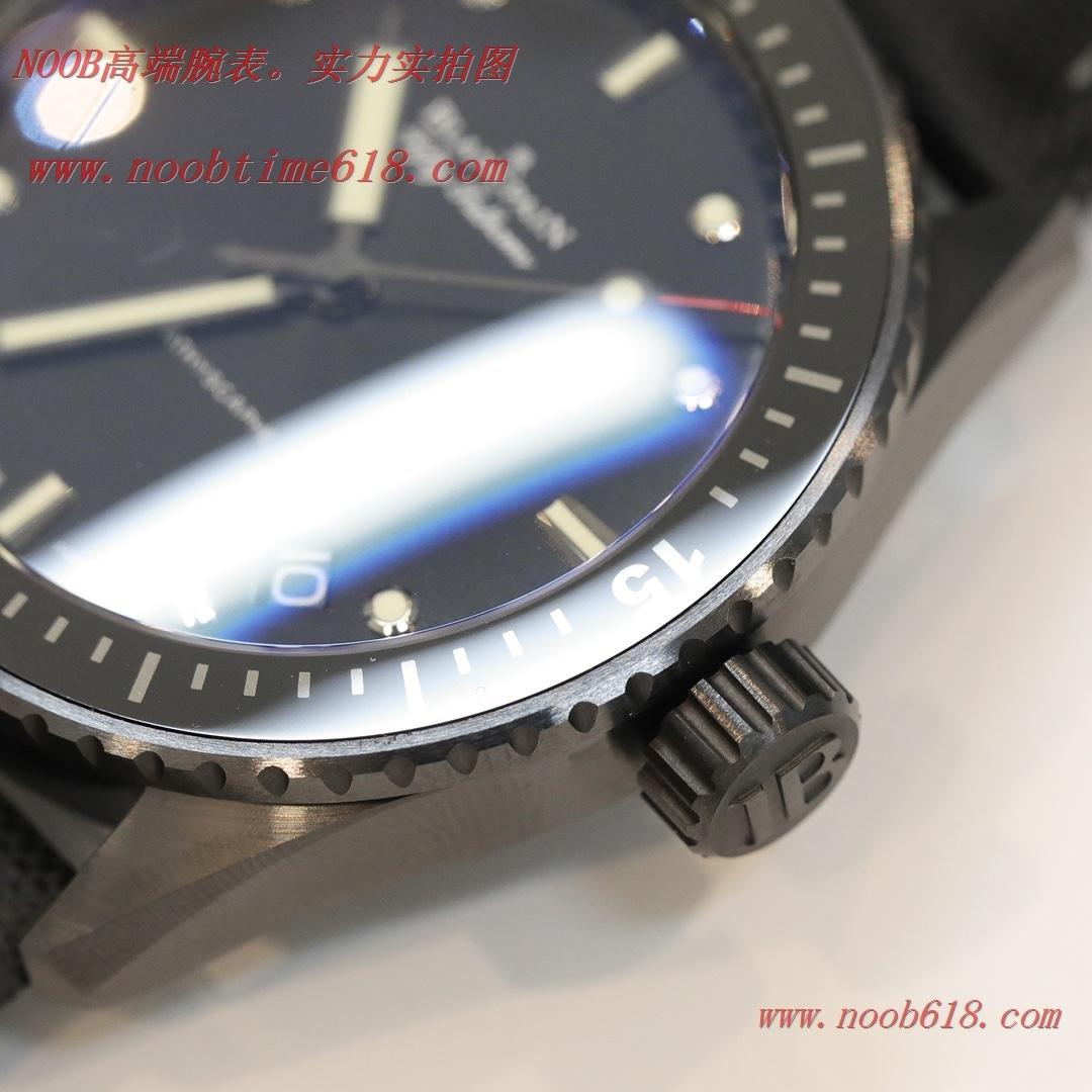 仿錶,GF廠手錶陶瓷殼寶珀藍面五十尋43.6mm男表香港仿錶