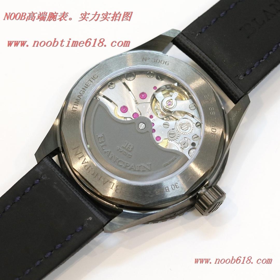 仿錶GF廠手錶陶瓷殼寶珀藍面五十尋43.6mm男表香港仿錶