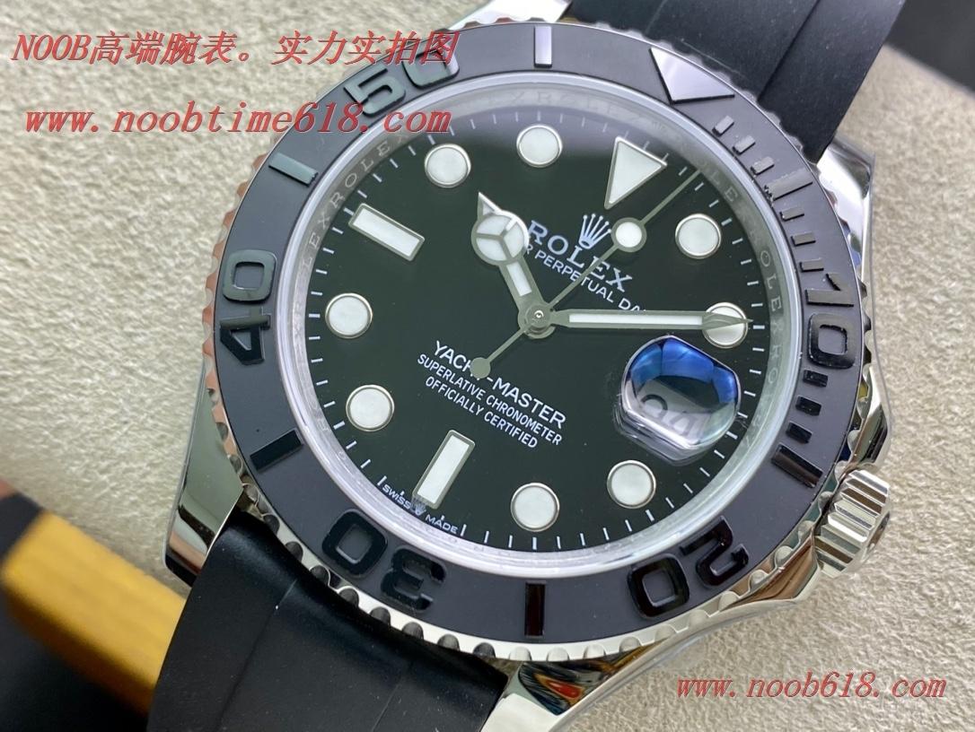 仿錶 WF Factory勞力士Rolex白遊艇名仕YACHT-MASTER直徑42MM,N廠手錶