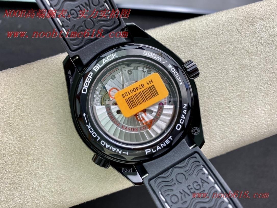 仿錶,JH廠手錶歐米茄深海之黑海馬600米8906機芯複刻錶