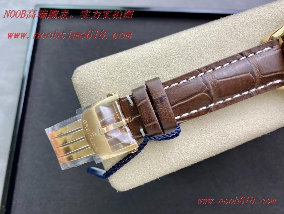 仿錶,GF廠手錶百年靈璞雅系列B01計時腕表吳彥祖同款BR0118371G1P1香港仿錶