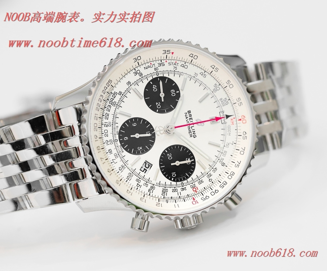 仿錶,GF廠手錶v2升級版百年靈航空計時1 B01計時腕表Navitimer 1 B01 Chronograph