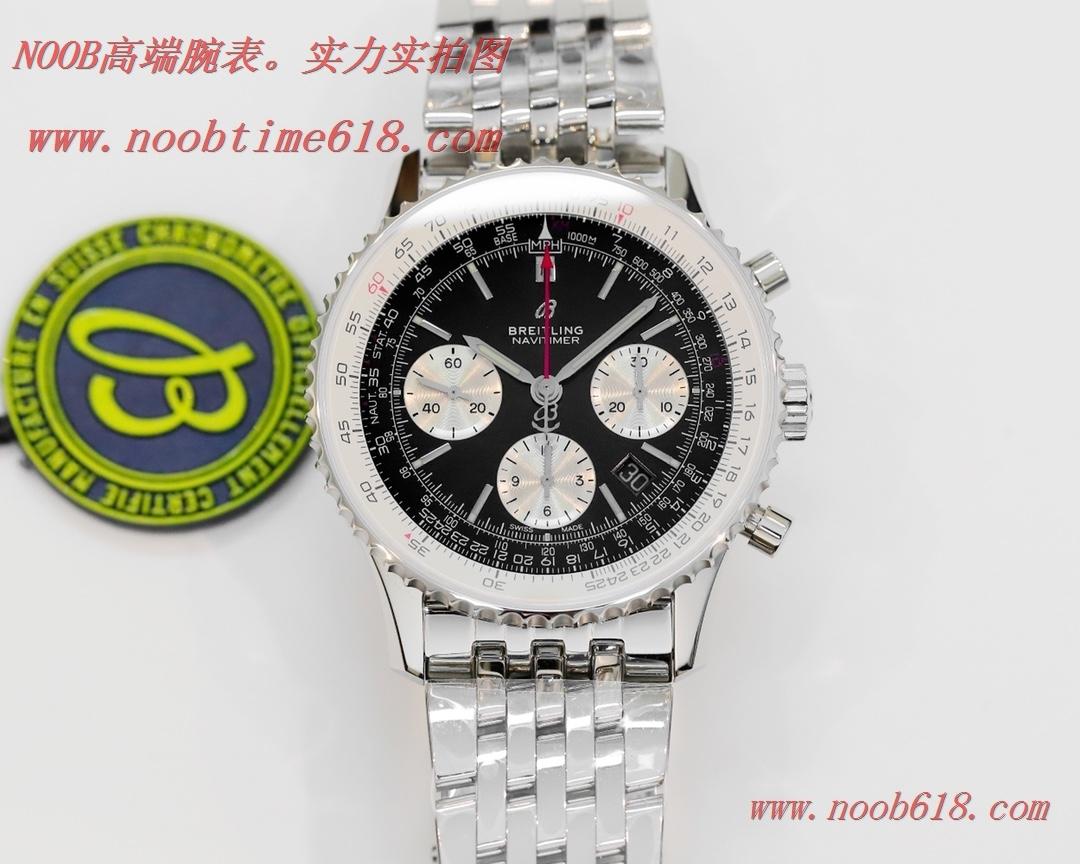 香港仿錶,GF廠手錶v2升級版百年靈航空計時1 B01計時腕表Navitimer 1 B01 Chronograph.