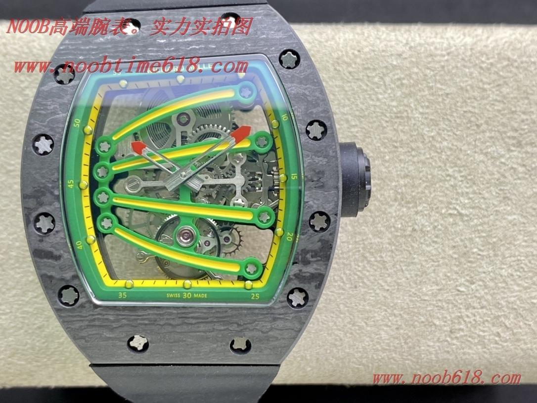 仿錶,理查德米勒Richard Mille RM59-01陀飛輪綠蜥蜴複刻手錶