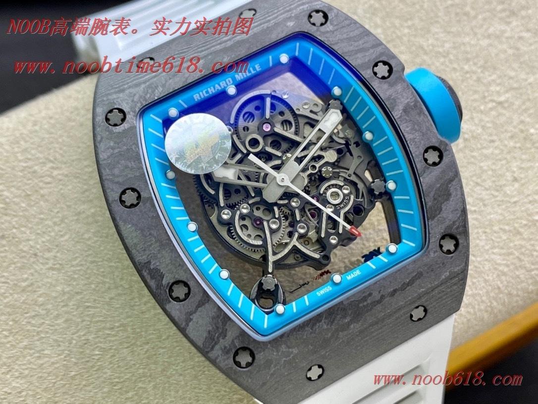 仿錶,ZF理查德米勒RICHARD MILLE碳纖維限量款阿布扎比亞斯複刻手錶