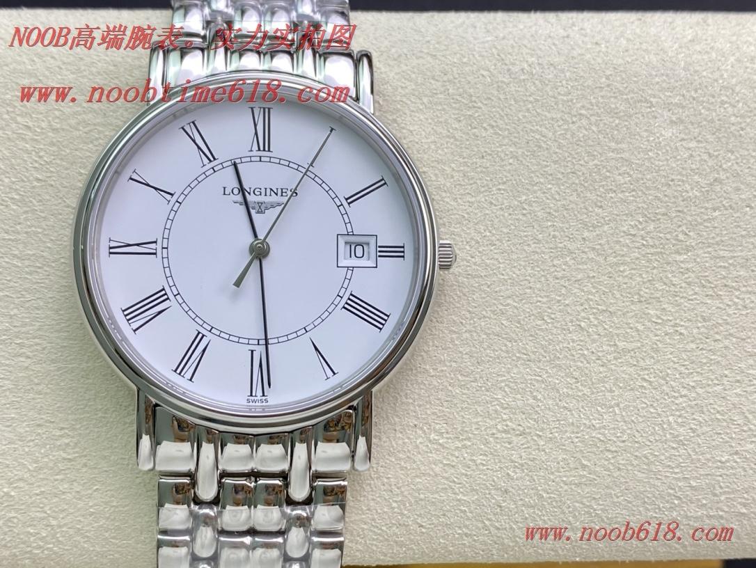 香港仿錶,最牛硬貨浪琴瑰麗系列石英情侶腕表24/40MM原單手錶