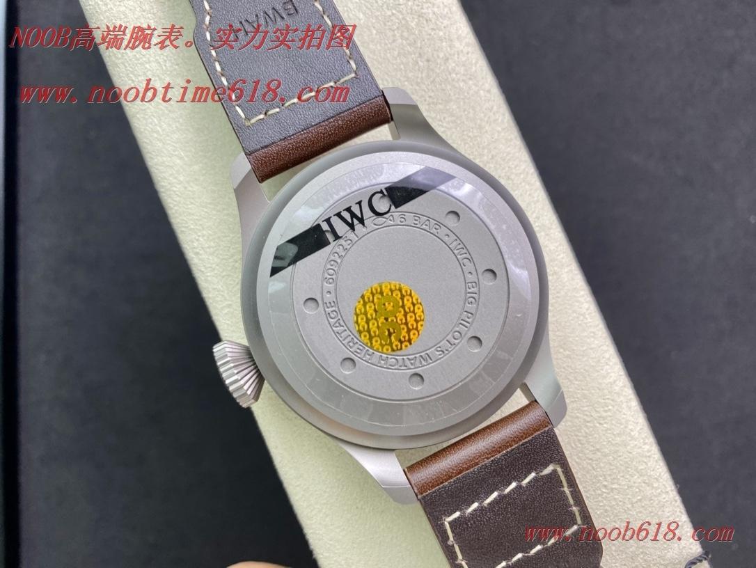 NOOB廠手錶官方旗艦店,ZF廠手錶IWC萬國空中霸主 大飛(大飛行員)系列46mm臺灣手錶