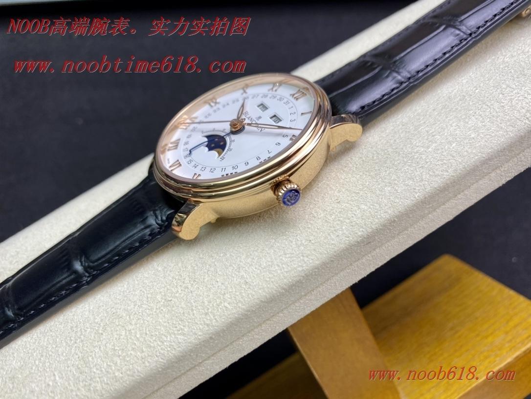 N廠,TW廠手錶寶珀villeret經典系列 6654月相顯示複刻手錶