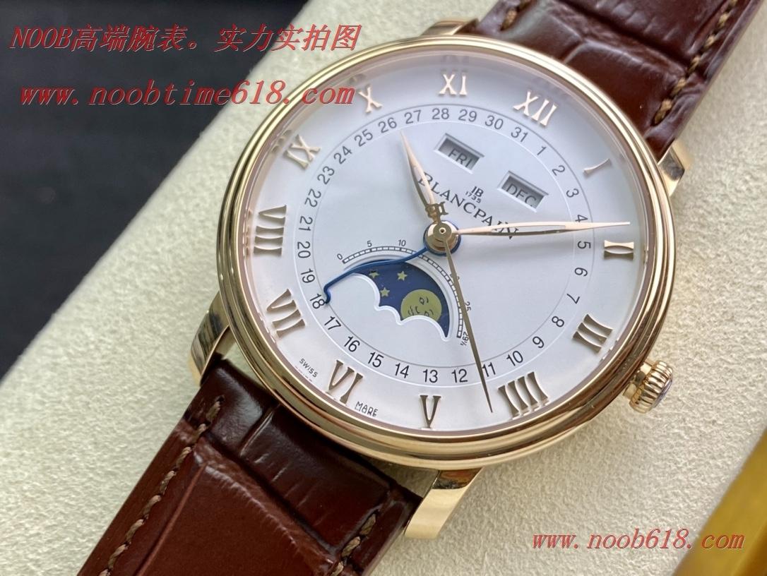 N廠手錶,TW廠手錶寶珀villeret經典系列 6654月相顯示複刻手錶