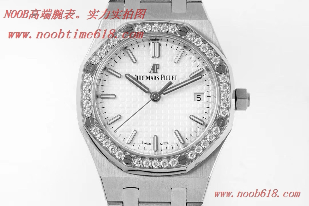 仿錶,8F廠手錶愛彼機械女表皇家橡樹77350/77351型號34MM複刻手錶