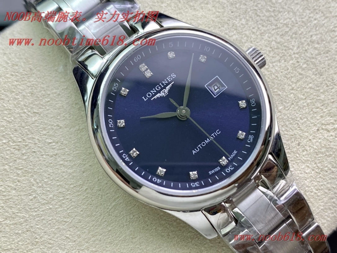 仿錶,稀有款浪琴藍盤名匠系列女表2671機芯30mm香港仿錶