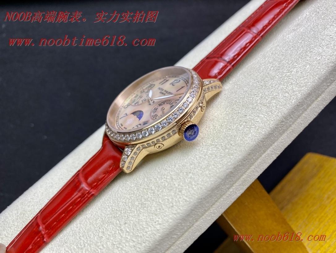 仿錶,百達翡麗Patek Philippe 4947萬年曆女表複刻手錶