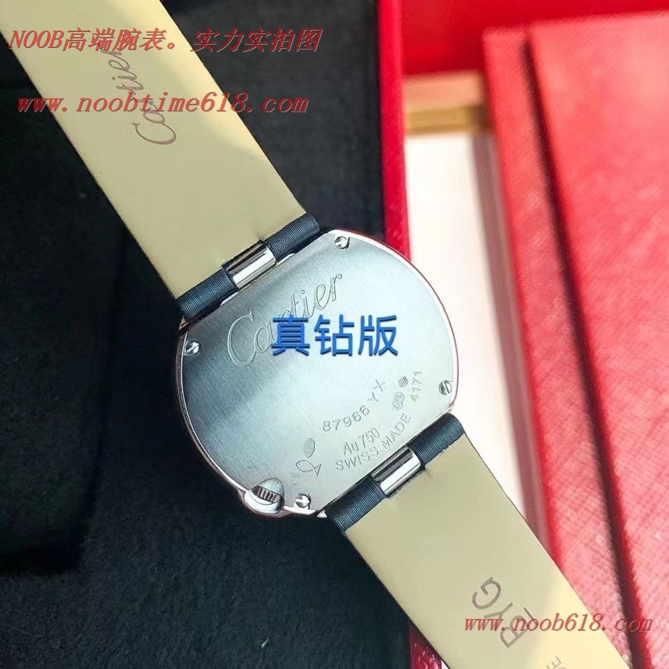 真鑽手錶,高端真鑽卡地亞白氣球系26MM/30MM鑲鑽腕表仿錶