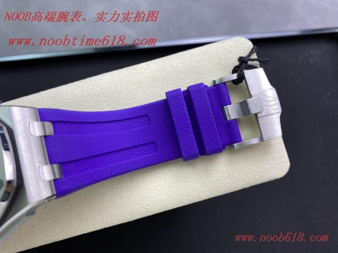 仿錶HQ出品愛彼AP15710 彩色系列皇家橡樹離岸型潛水腕表