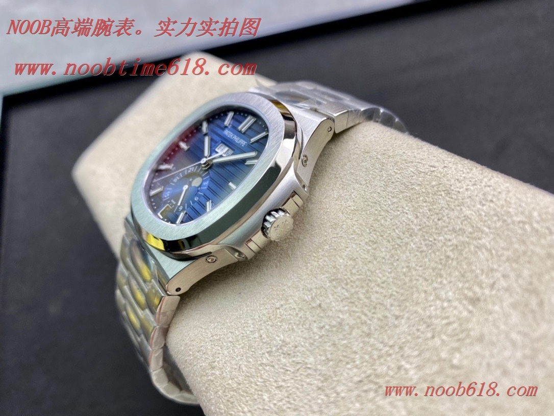 香港仿錶,百達翡麗運動優雅Nautilus系列(鸚鵡螺)年曆腕表5726款最佳副本複刻腕表