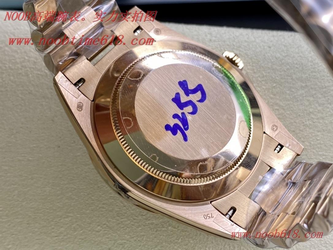 稀有款BP厂勞力士星期日志系列雙曆3255機芯40mm