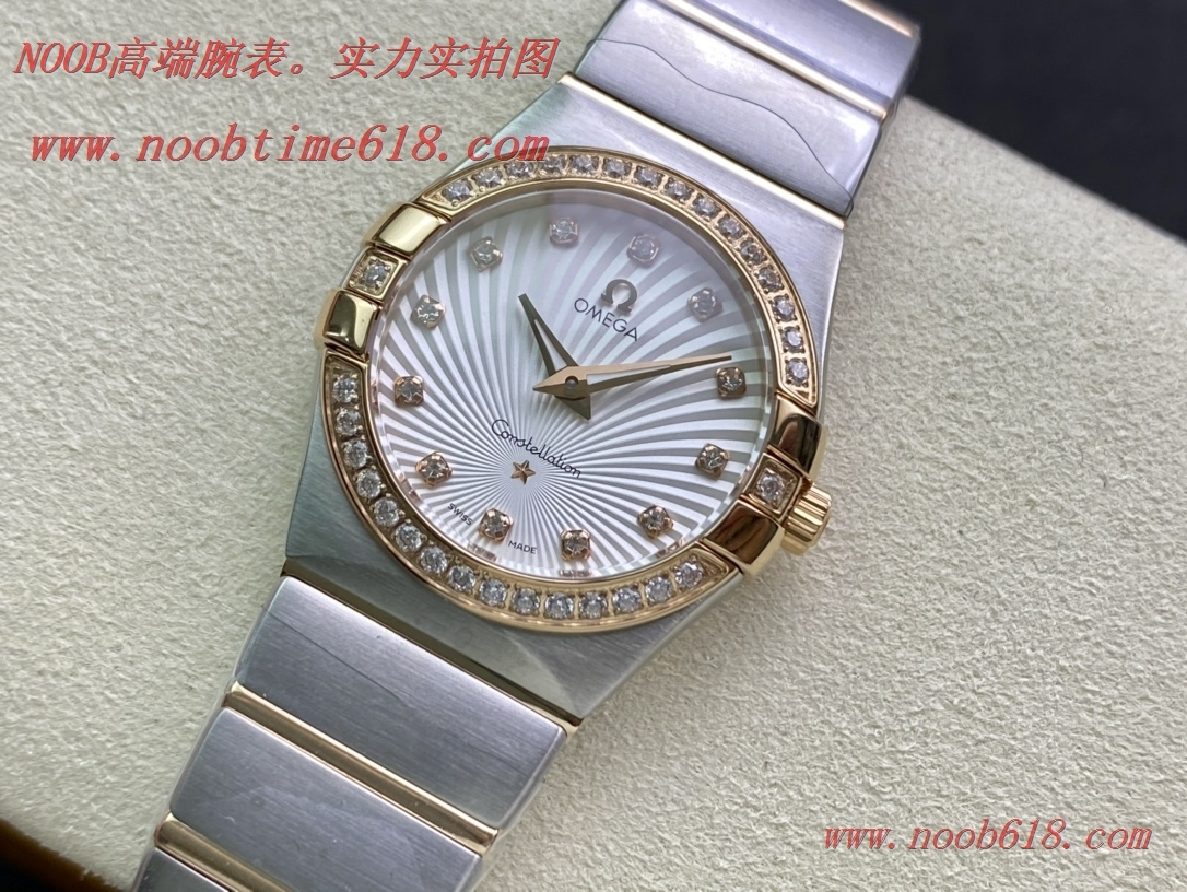 TW廠手錶歐米茄星座系列瑞士石英女表複刻手錶