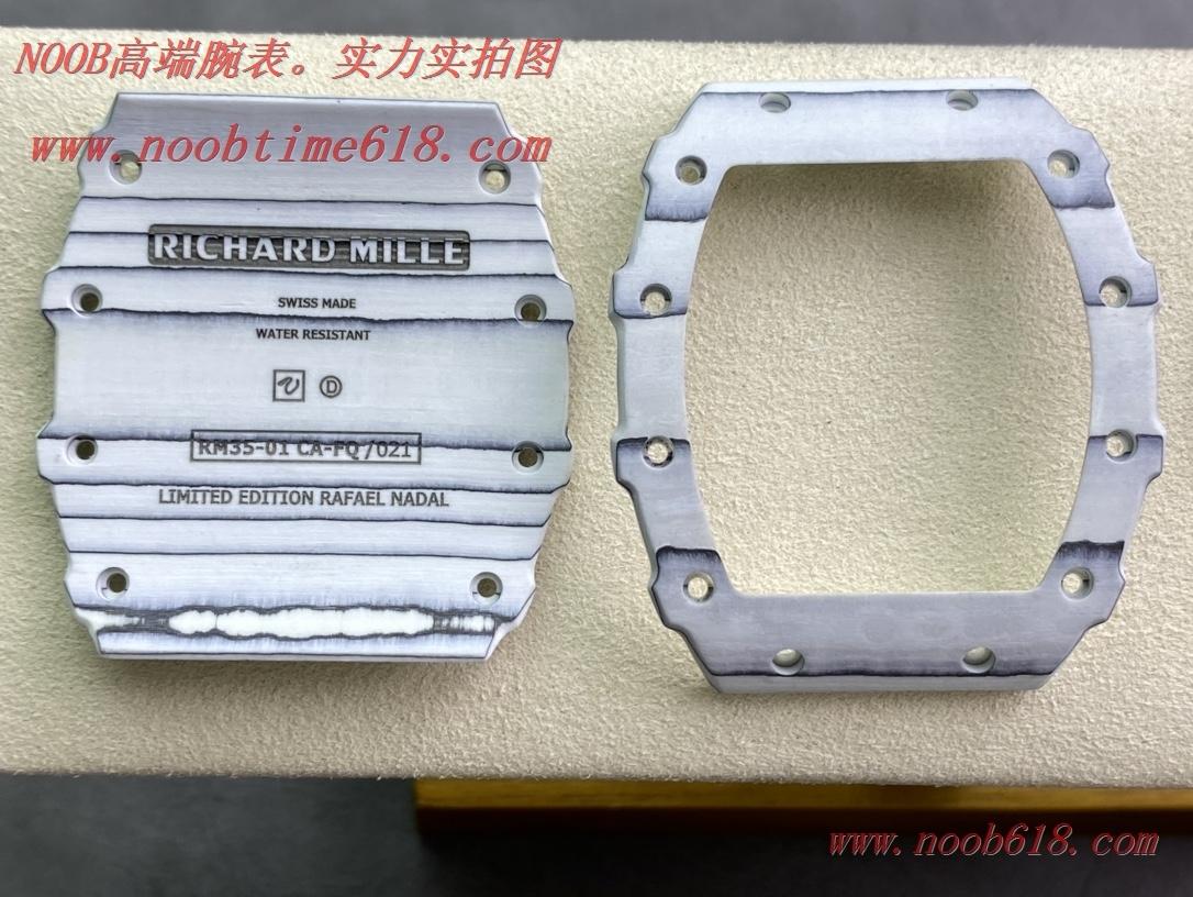 改裝廠,改裝配件三件套理查德RM35-01高級定制碳纖維材質表殼