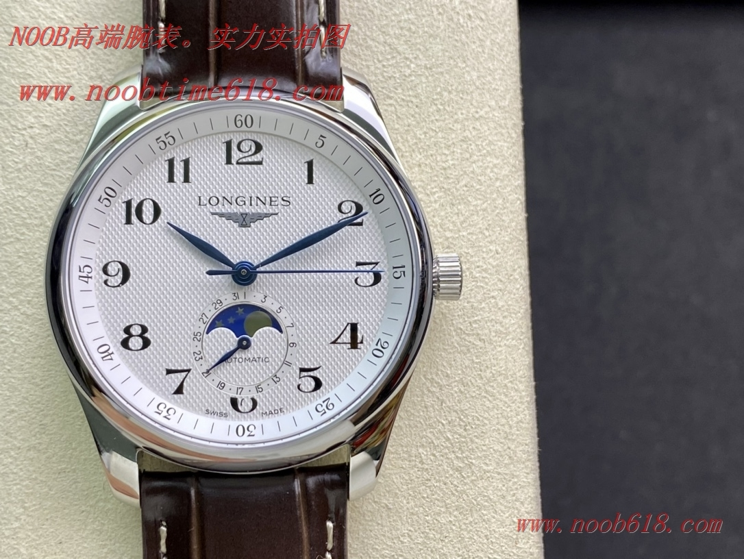 GF廠手錶浪琴名匠系列月相42mm腕表