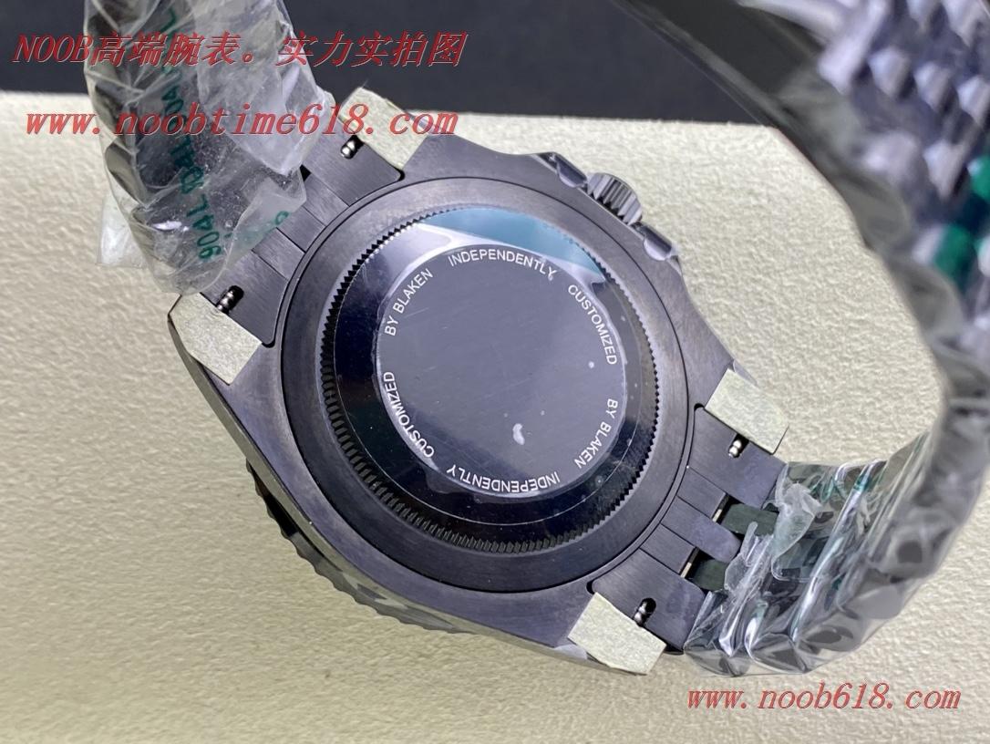 GS廠手錶勞力士黑化格林尼治GMT 126710blnr個性定制複刻手錶