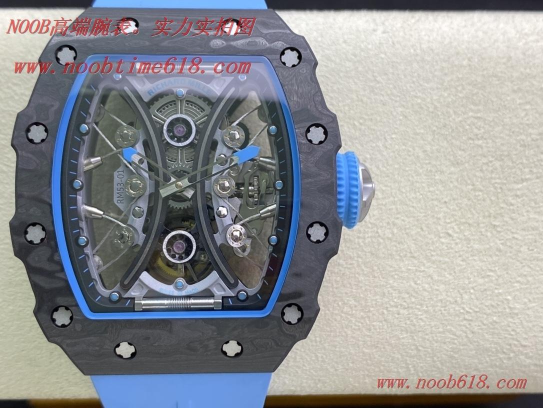 JB廠手錶理查德米勒RM53-01陀飛輪腕表