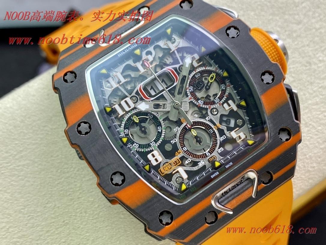 理查德米勒RM11-03碳纖維計時複刻錶