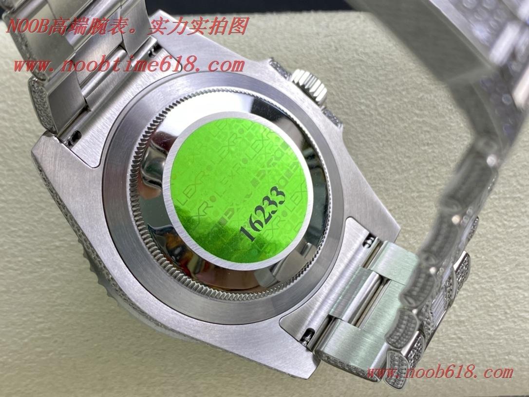 滿鑽手錶,滿鑽水鬼,勞力士滿天星腕表潛航者型密鑲鑽特別款複刻錶