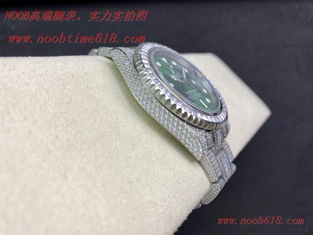滿鑽複刻錶,滿鑽水鬼,勞力士滿天星腕表潛航者型密鑲鑽特別款複刻錶