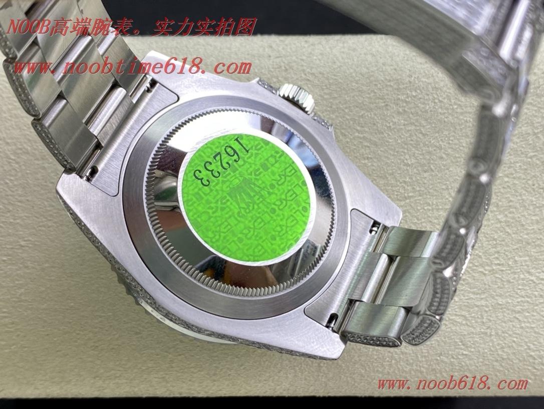 高定滿鑽手錶,滿鑽水鬼,勞力士滿天星腕表潛航者型密鑲鑽特別款複刻錶