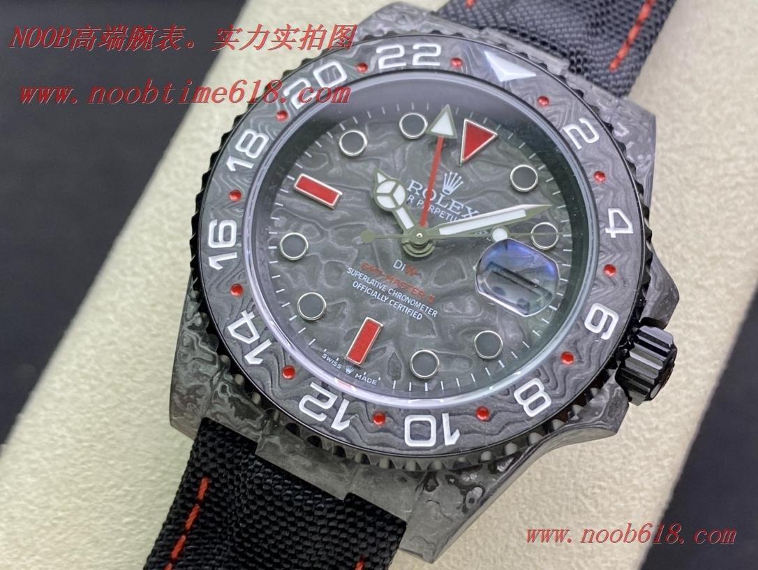 JH匠心鑄造碳纖維勞力士格林尼治DIW定制版複刻錶