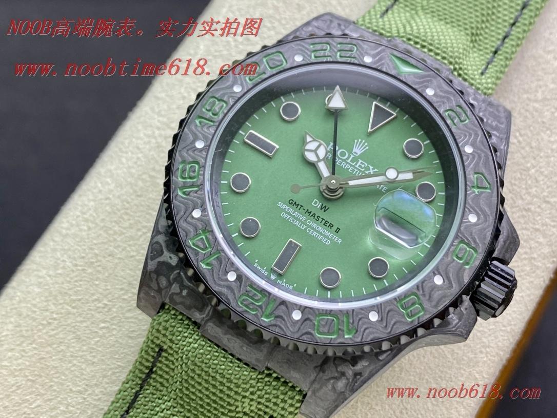 改裝仿錶,JH factory rolex 匠心鑄造碳纖維勞力士格林尼治DIW定制版複刻錶
