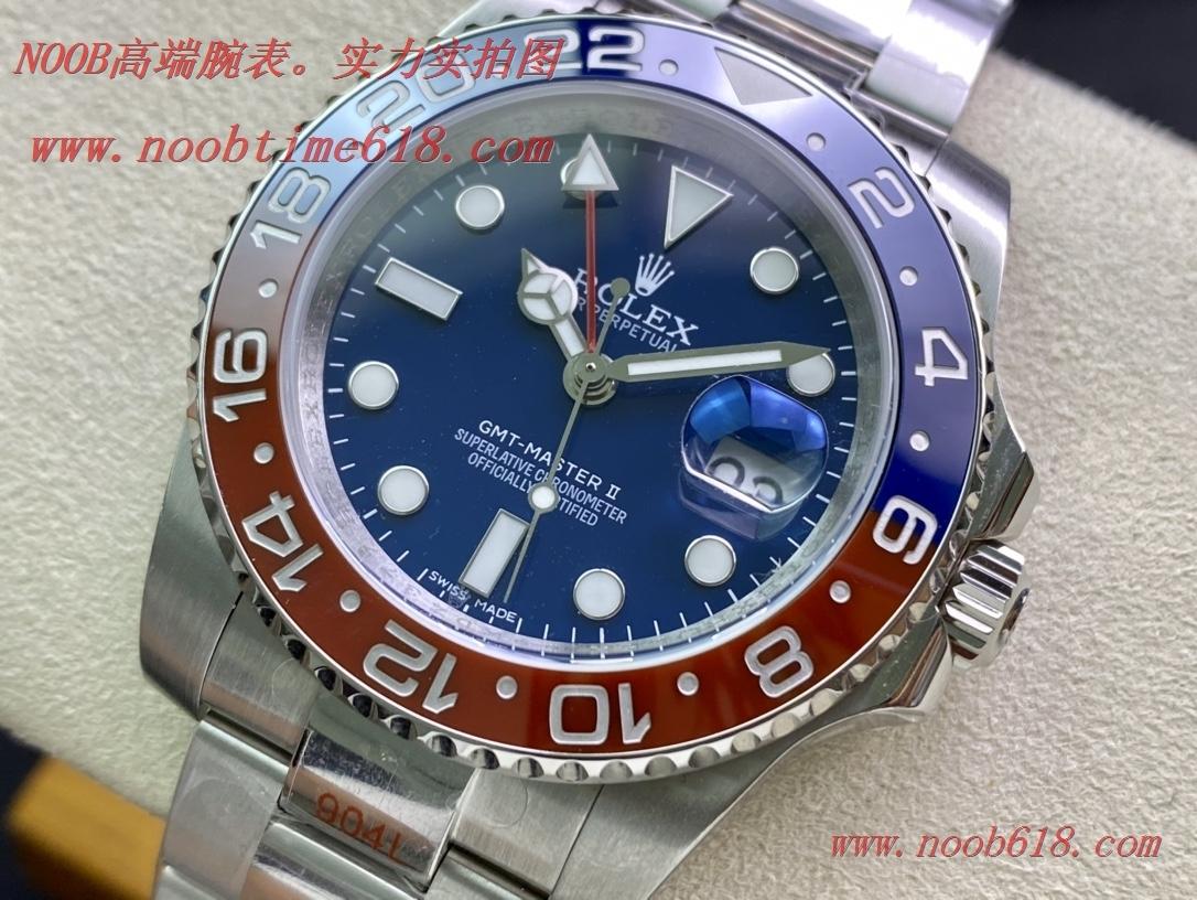 Clean廠簡稱C廠勞力士格林尼治系列可樂圈GMT仿錶